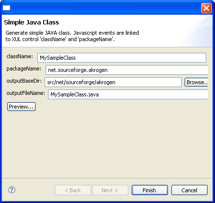 java how to detect input in window class